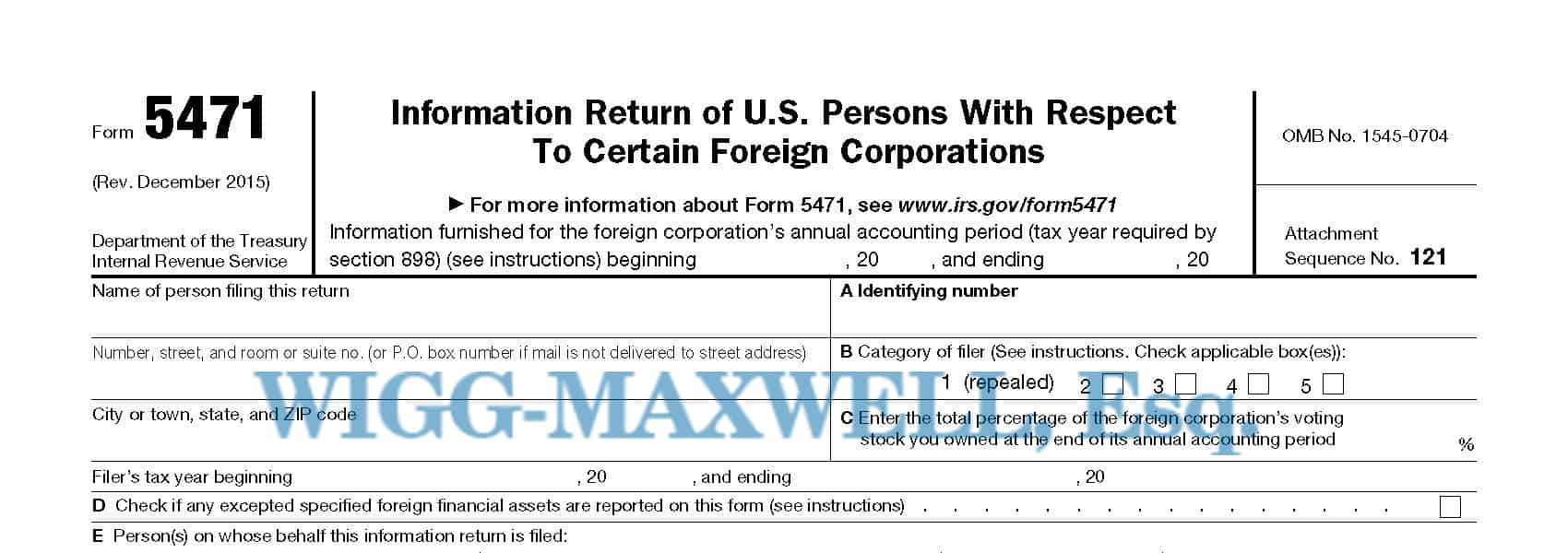 What Accounting Problems Can I Expect In Filing A 5471 The Irs May