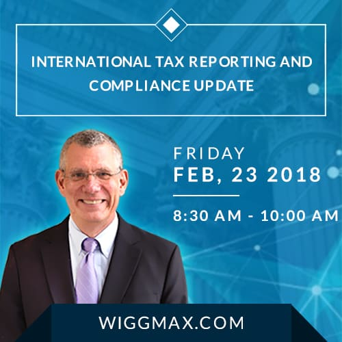 International Tax Seminar NJ