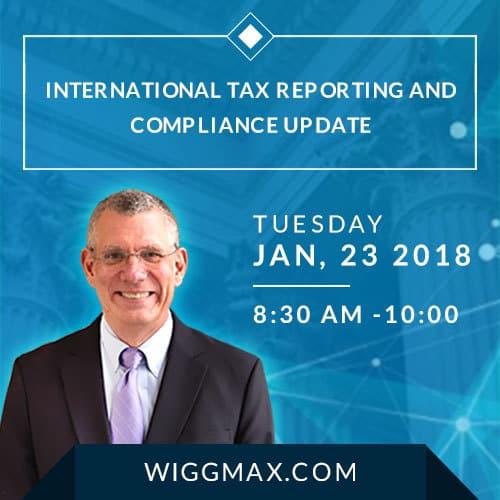 International Tax Seminar NJ